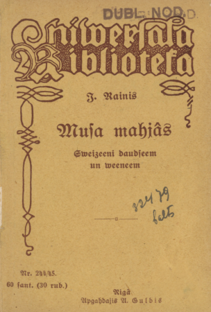 Musa mahjâs : sweizeeni daudseem un weeneem